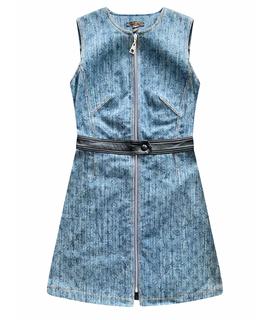 Платье миди LOUIS VUITTON